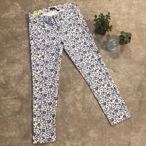 J.Crew Floral Skinny Jeans | Size 26